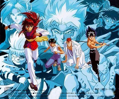 Superhero Wallpapers-Yu Yu Hakusho 6